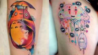 I tatuaggi più belli ispirati ai capolavori di Studio Ghibli!