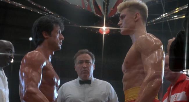 Ivan Drago e Rocky Balboa sono pronti al match definitivo