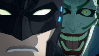 Una scena tratta dal trailer con il protagonista e il villain