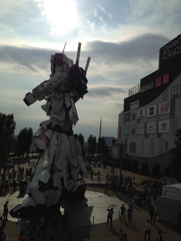 Il Gundam Unicorn sorto a Odaiba, Tokyo