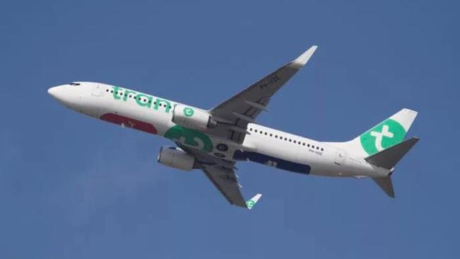 Uno degli aerei della compagnia Transavia.