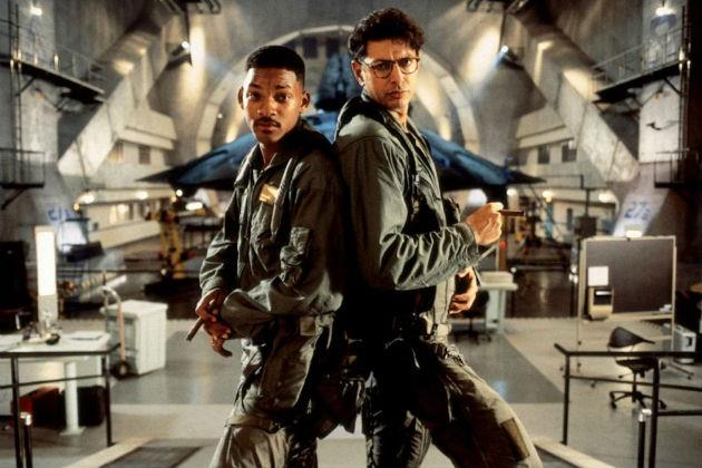 Will Smith e Jeff Goldblum in Independence Day