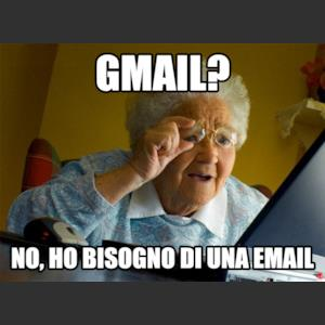 Gmail? No, ho bisogno di una email