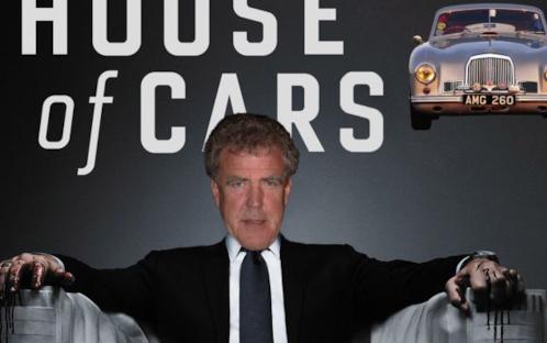 Tu guarderesti Top Gear in versione House of Cars?