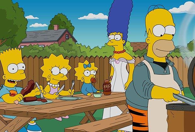 Marge e la famiglia Simpson nella stagione 27