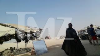 Immagine dal set di Star Wars 7