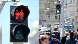I semafori LGBT di Vienna