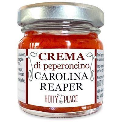 Un barattolo di Crema di peperoncino Carolina Reaper - Regali sotto i 10 euro