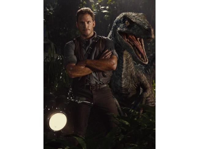 Jurassic World Owen Grady e raptor