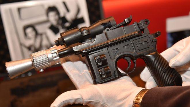 La pistola di Han Solo