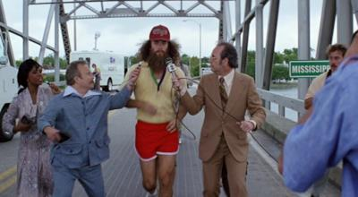 Forrest Gump corre nel film