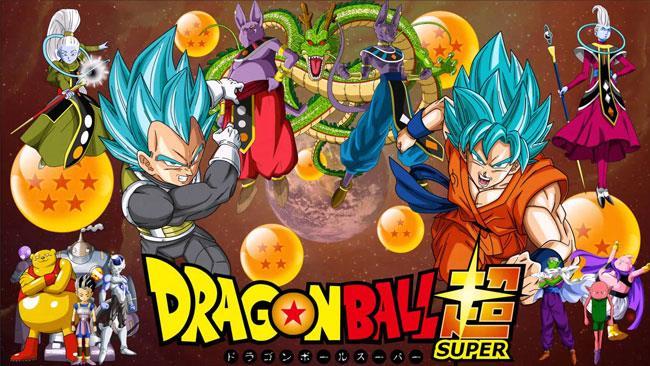 Locandina di presentazione di Dragon Ball Super