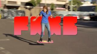 Skateboard volante HUVr Board