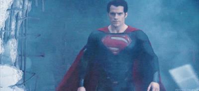 Superman dopo essere stato rasato