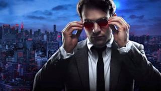 Matt Murdock in un poster promozionale di Daredevil