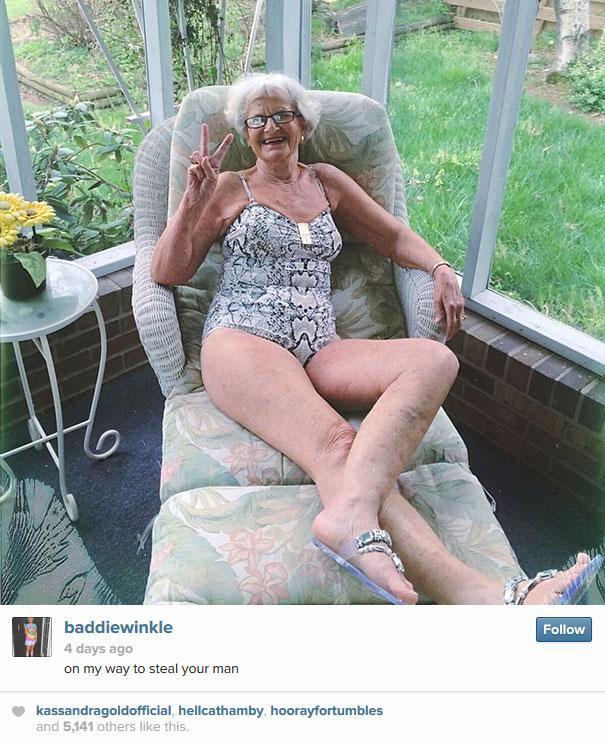 La nonna che spopola su Instagram