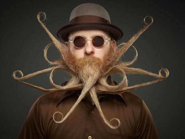 Un barbuto particolare