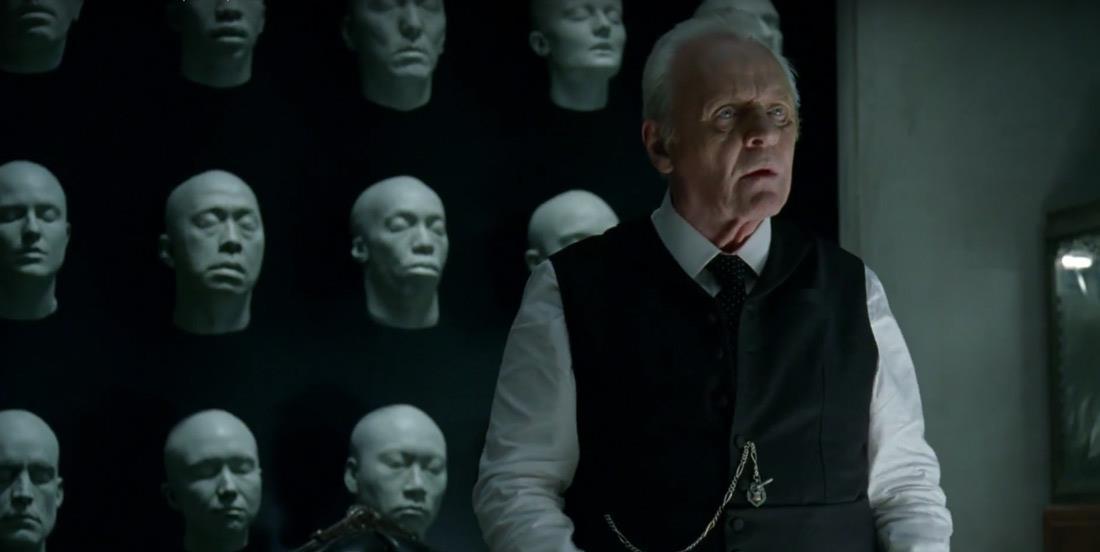 Robert Ford nella serie TV Westworld - Dove tutto è concesso