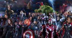 Tutti gli Avengers insieme, uniti per la battaglia finale.