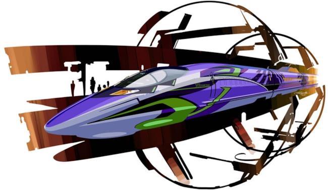 In Giappone correrà un treno dedicato ad Evangelion