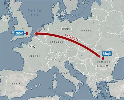 Il viaggio intrapreso da Mihai Danciu