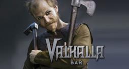 La locandina del bar Valhalla