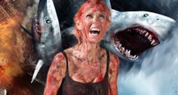 Tara Reid e Sharknado