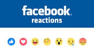 Le reazioni, i nuovi emoticon di Facebook
