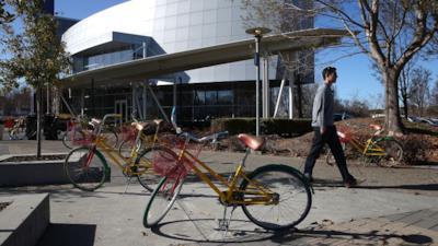 Alcune bici residue di Google