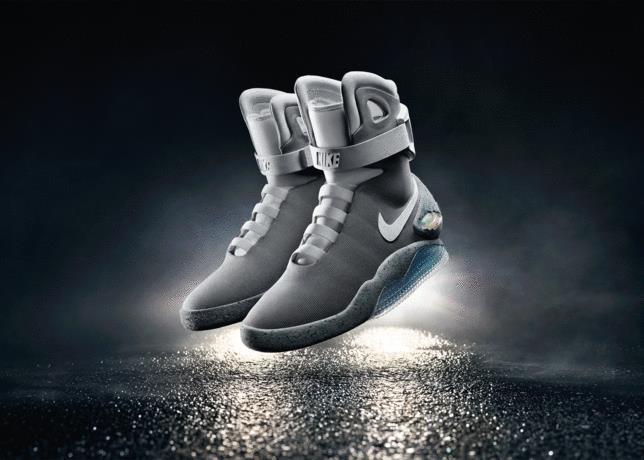 Le vere Nike Air MAG ispirate a Ritorno al Futuro