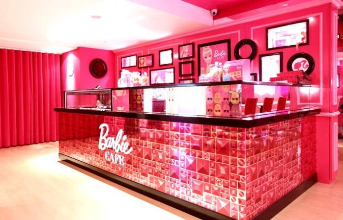il bar a tema Barbie solo per veri amanti del rosa