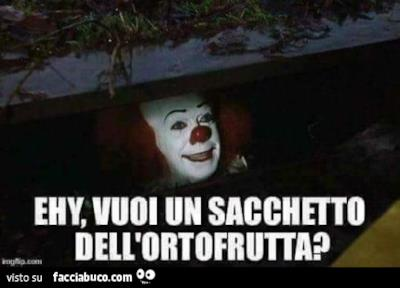Il meme con Pennywise