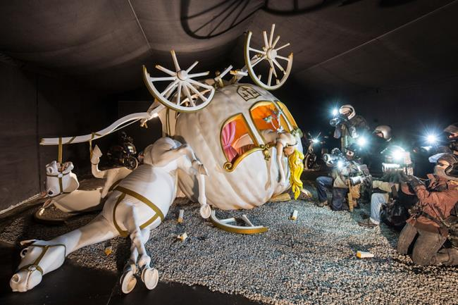 Banksy Officially Unveils Dismaland Theme Park