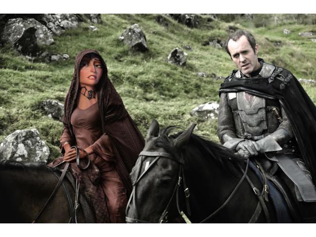 Madre Gothel nei panni di Melisandre