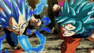 L'immagine di Goku e Vegeta