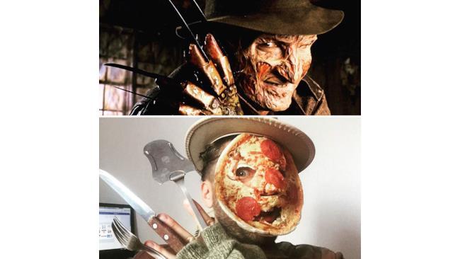 Il cosplay di Freddy Krueger