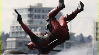 foto scattata sul set di Deadpool