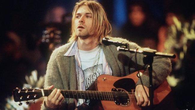 Kurt Cobain, il cantante dei Nirvana