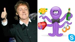 Paul McCartney e Skype: le emoji musicali di San Valentino