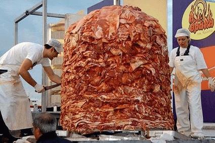 Una montagna di Kebab