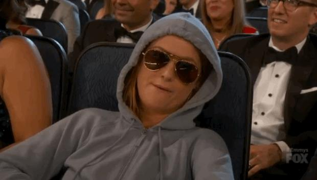 Amy Phoeler alla cerimonia degli Emmy 2015