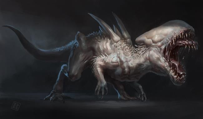 L'unione tra Venom, un Indominus Rex e uno Xenomorfo