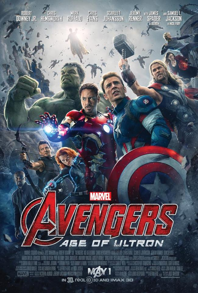 Poster ufficiale di Avengers: Age of Ultron
