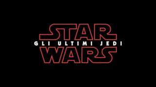 Il logo di Star Wars: Gli Ultimi Jedi