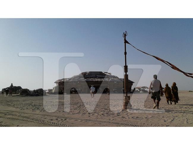 Immagine dal set di Abu Dhabi di Star Wars 7