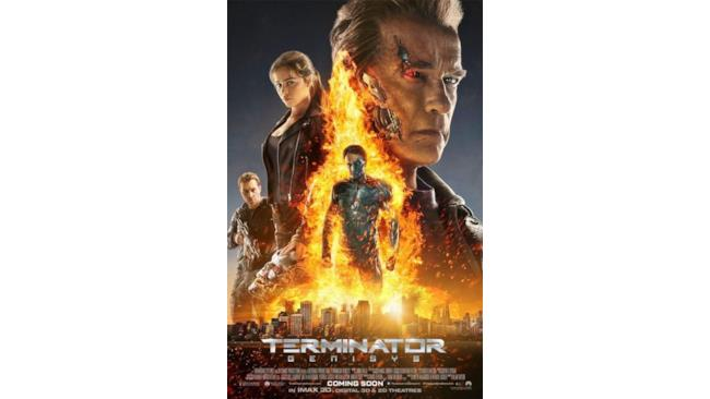 Terminator: Genisys, poster ufficiale