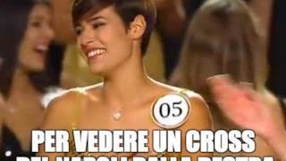 Miss Italia e l'amore per il calcio