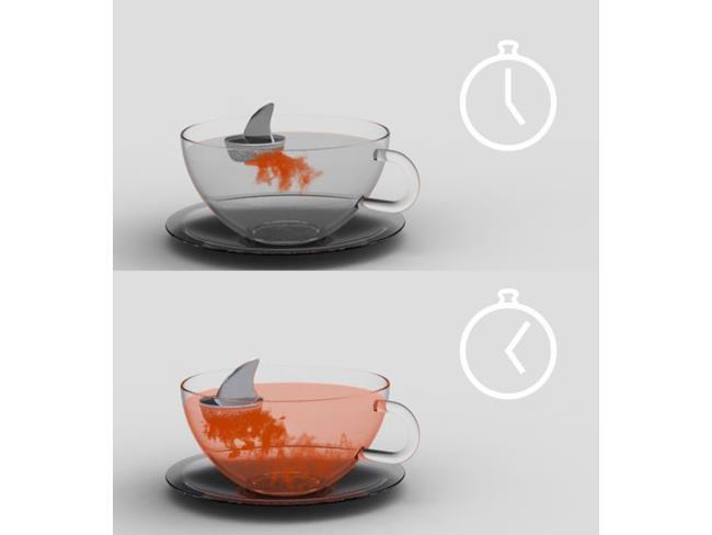 Infusore da tè squalo