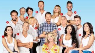 Il cast 2015 dell'Isola dei Famosi