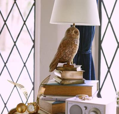 Lampada e orologio ispirati a Harry Potter